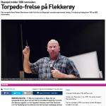 Torpedofrelse på Flekkerøy